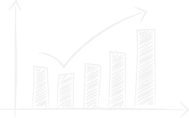 Chart als Symbol für den Online-Vertrieb