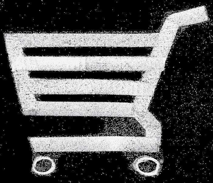Shopping-Cart als Symbol für den Online-Handel